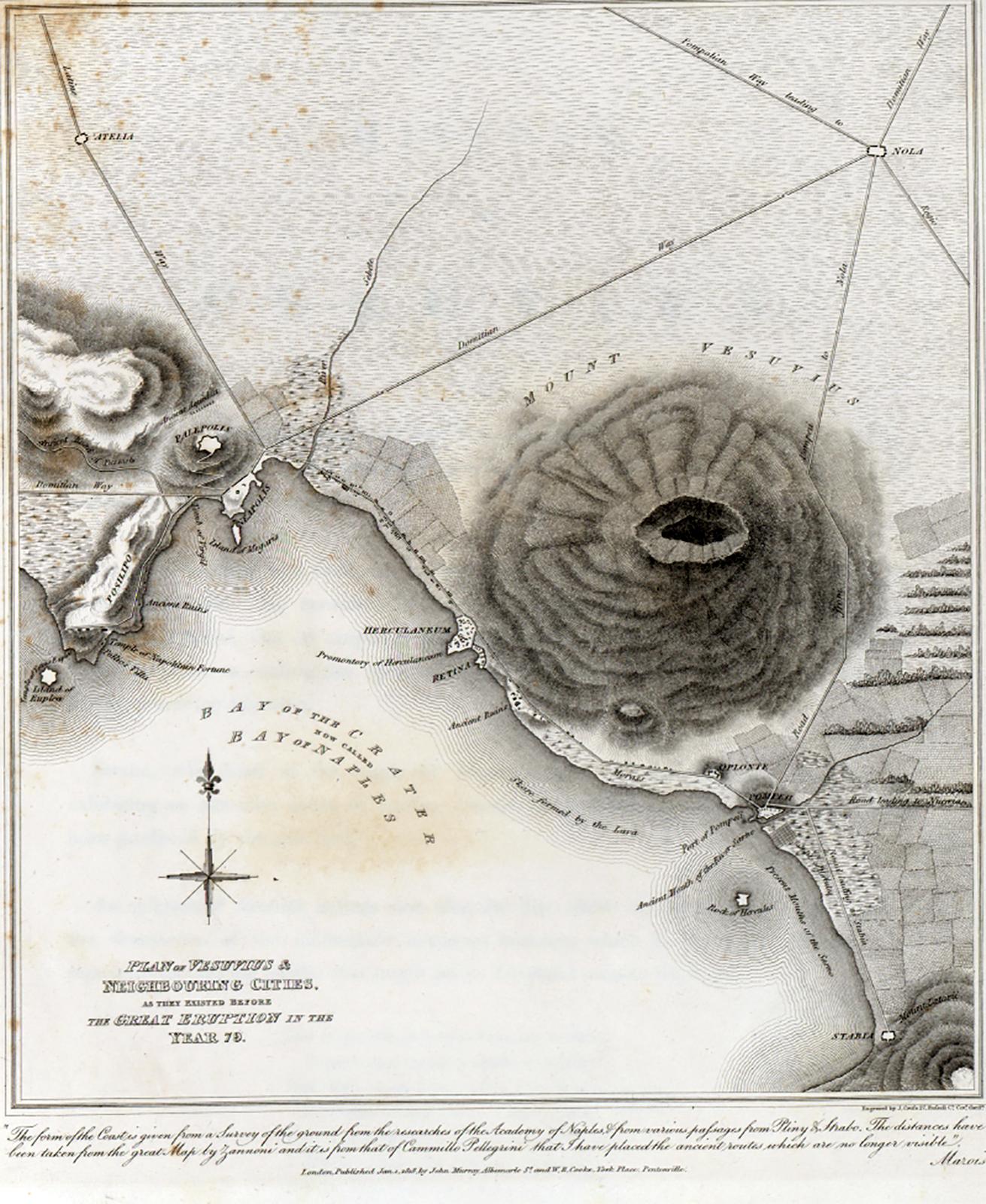 Bay Of Naples 1818